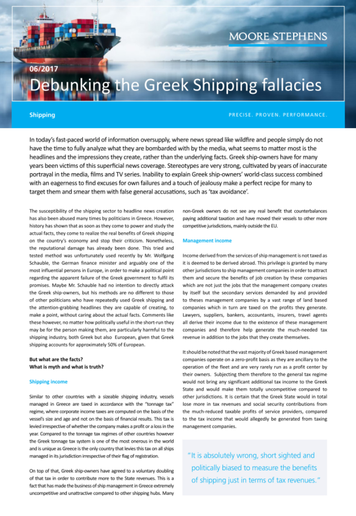 debunking the greek shipping fallacies