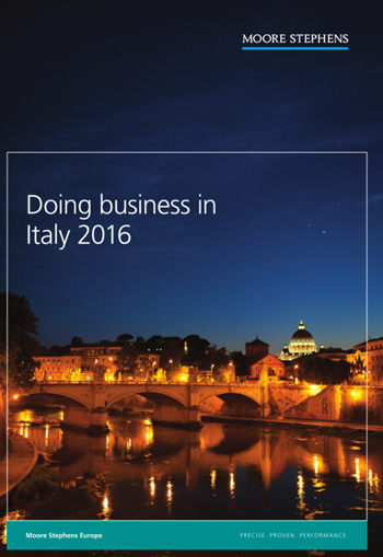 Doing business in Italy - 2016